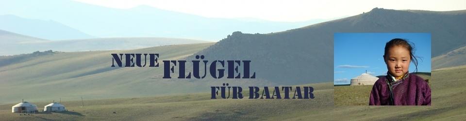 """""""Neue Flügel für Baatar"""" Ein Kinderbuch zugunsten wünschdirwas"""