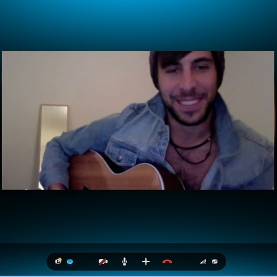 Skype-Konzert