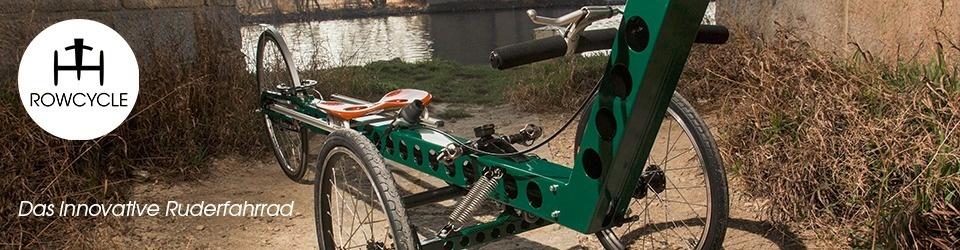 ROWCYCLE - Das innovative Ruderfahrrad