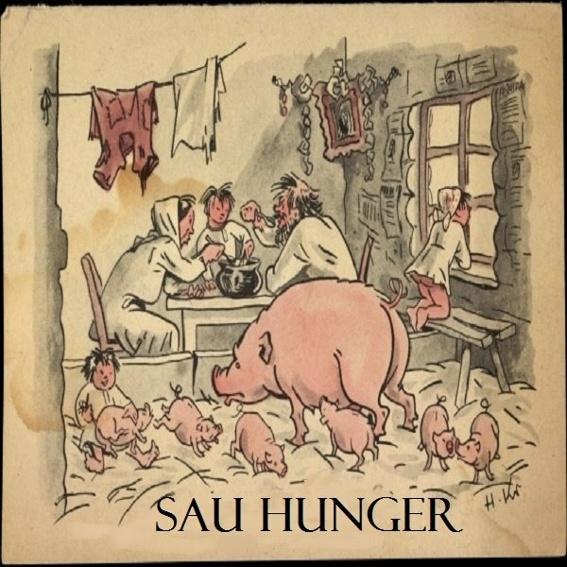 Kochbuch  Sau Hunger