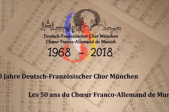 50 Jahre Deutsch-Französischer Chor München