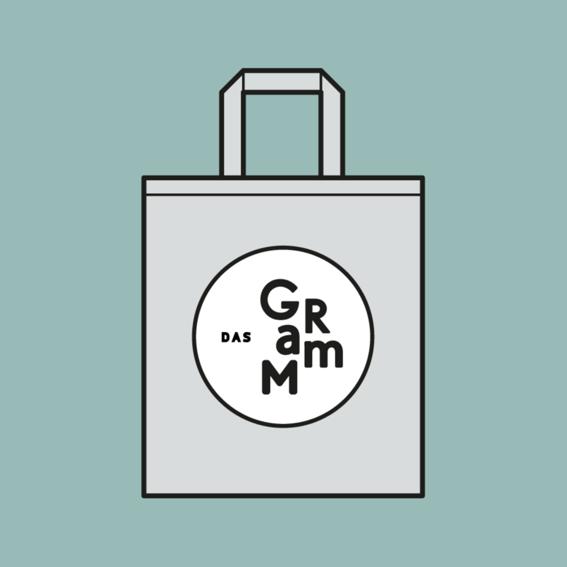 Das Gramm- Einkaufstasche