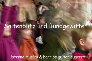 Saitenblitz und Bundgewitter / Musiktheater für Kinder
