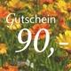 Gutschein 90