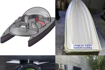 Handicap-Katamaran-Autonom ||| Boote für ALLE