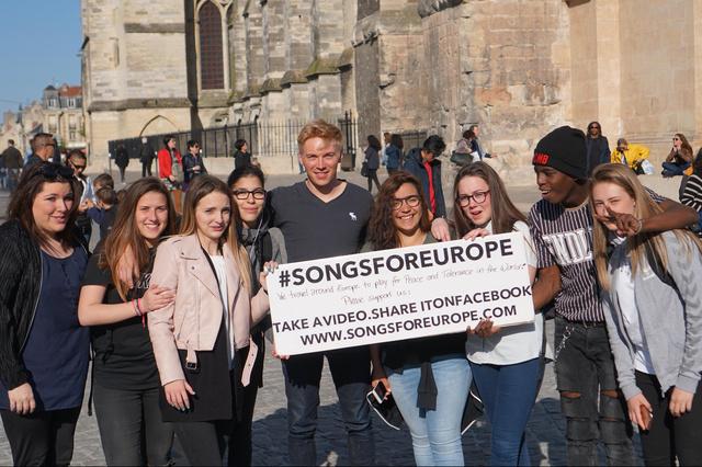 #SONGSFOREUROPE Tour für Frieden und Toleranz
