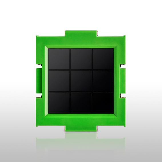 Clicc-Solarmodul ohne Basisgerät in 6 knackigen Farben aus der limitierten Himmel-Edition, Ladenpreis 7,90 €