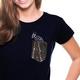 """Kipepeo Frauen Shirt Taschentierchen """"Zebra"""""""
