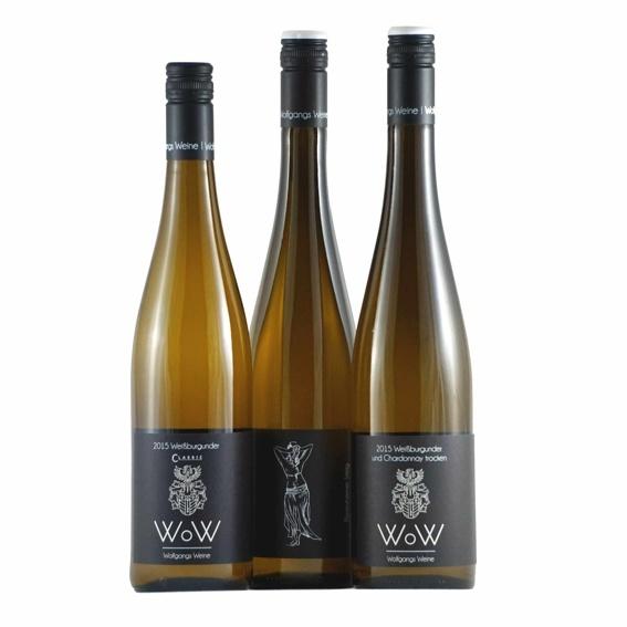 3 Flaschen Weisswein