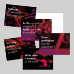 Philosophisches Postkartenset
