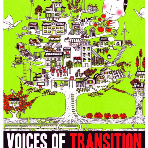 "Handsigniertes, exklusives ""Voices of Transition"" Kinoplakat"