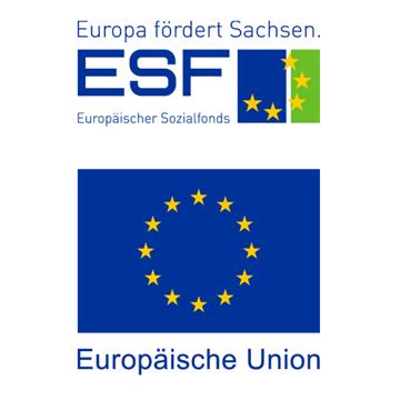 ESF und Freistaat Sachsen