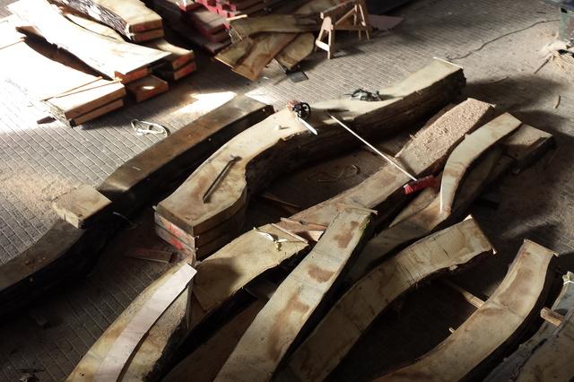 Neues Holz für