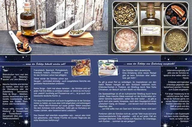 Kulinarische Sternzeichen Bio Geschenkbox