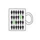 """Kaffeebecher mit """"Hochbegabung leben""""-Design als freundliche Guten-Morgen-Erinnerung"""