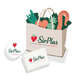 SirPlus cloth bag, sticker & flyer