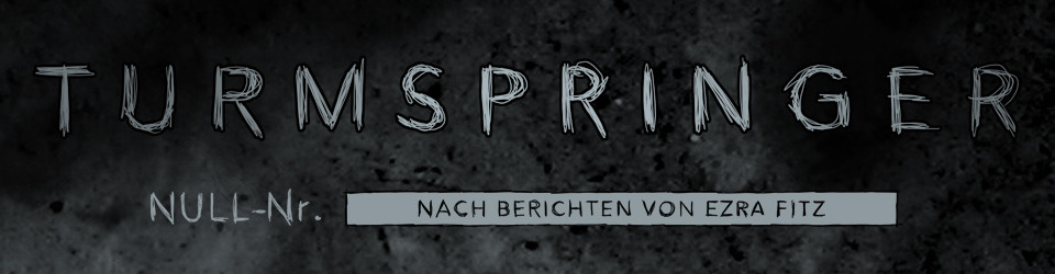 Turmspringer - ein Comic aus Berlin