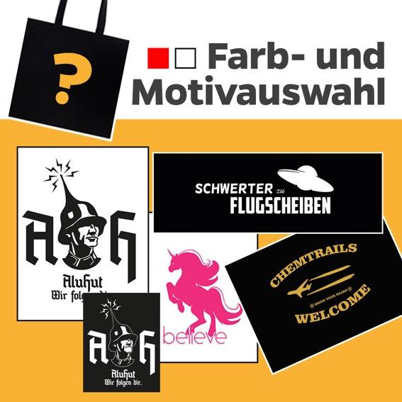 Stickerset + Bag mit Motiv deiner Wahl