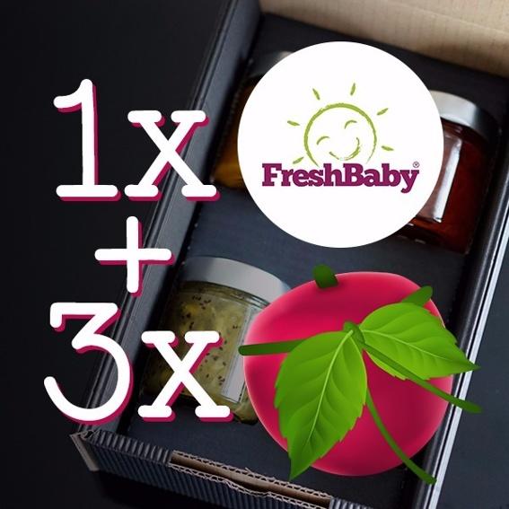 FreshBaby 4er Genuss Box