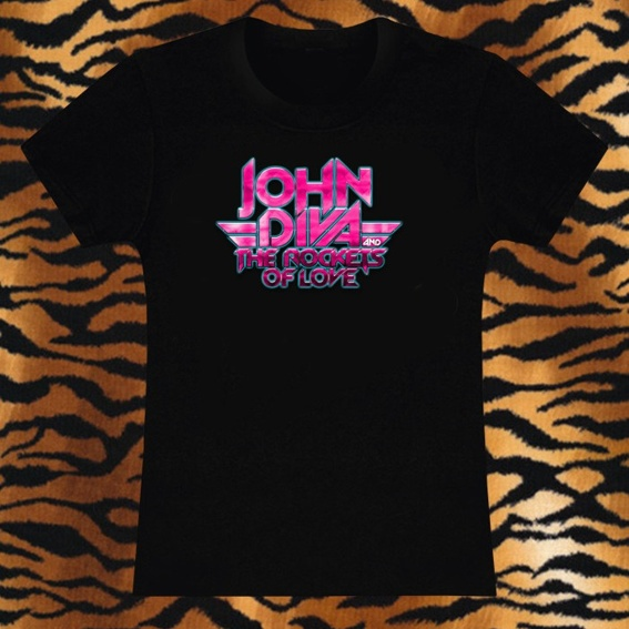 JOHN DIVA T-Shirt + CD