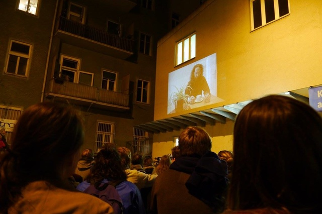 StreetCinema – Artists in Residence Rostfest 2016