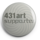 "Button ""431art supporter"""