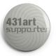 """Button """"431art supporter"""""""