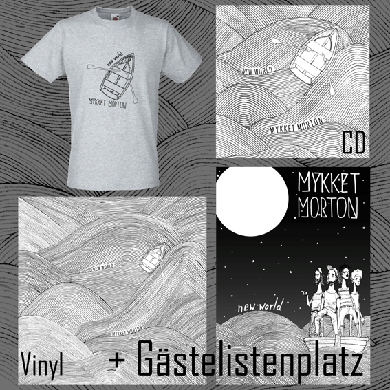 Gästelistenplatz + Vinyl + CD + Poster + T-Shirt