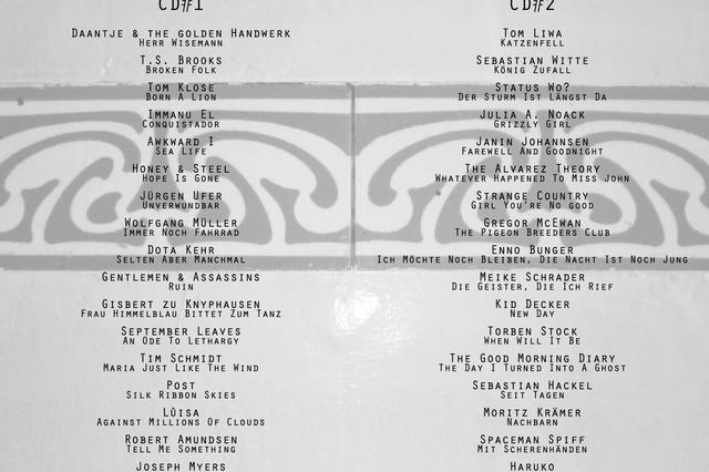 Hamburger Küchensessions - Doppel-CD-Sampler der Künstler