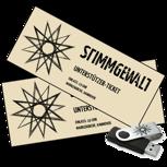 2x Tickets für Konzert der Stimmgewalt Acoustic Tour 2017 + Live-Aufnahme
