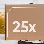 25 x 1 Jahr Membership (Company Package - M)