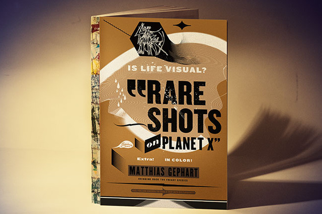 »RARE SHOTS ON PLANET X« – Das Disturbanity Graphics Buch