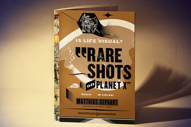 »RARE SHOTS ON PLANET X« – Das Disturbanity Graphics Buch