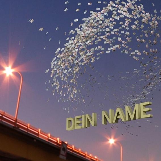 Dein Name im Schwarm