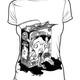 """""""Pelztar Art Work"""" limited fair trade shirt Girls I"""