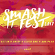 Dein Ticket + Smash It T-Shirt, Stoffbeutel und Backstagepass