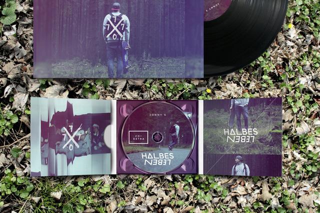 Album Pressung: Jonny S - Halbes Leben