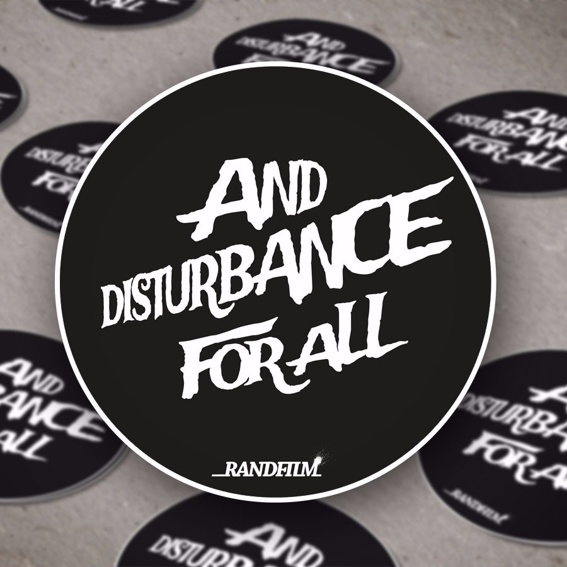 We love Randfilm inkl. Sticker