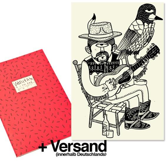 1 Ausgabe »Superzine Vanitas« (Pre-Order) + 1 Originalillustration