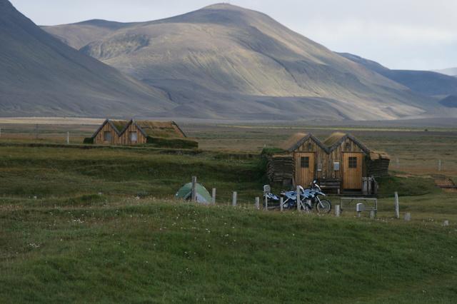 Island ein stürmisches Motorradabenteuer