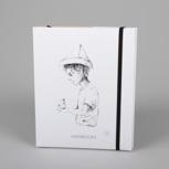 """Fallenbird"" (black/white Carton) – Swiss Brochure"