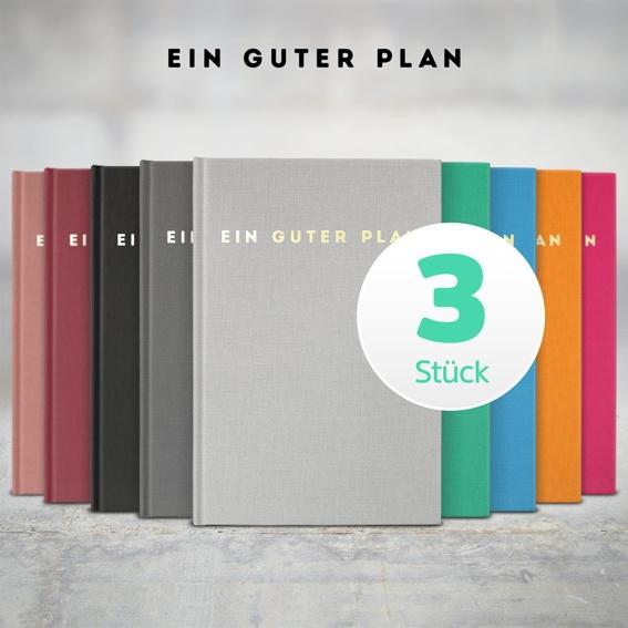 3 x Ein guter Plan