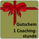 1 Coachingstunde mit Grit Hallal