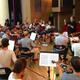 Großes Ensemble der APH für 45 Minuten
