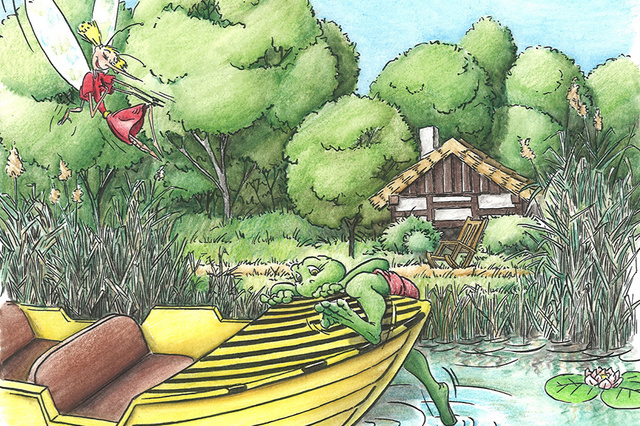 Kinderbuch: Die Abenteuer von Moppel und Mücke