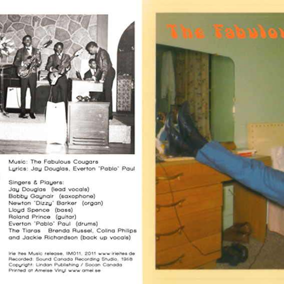 Irie Ites vinyl-single: The Fabulous Cougars - Sooner Or Later