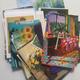persönliche Dankeschön Blumen Postkarte