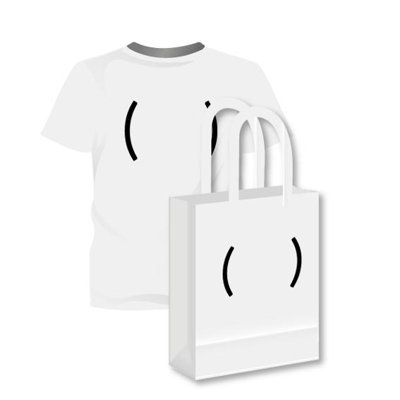 Stofftasche oder T-Shirt mit Design-Druck