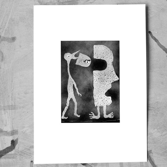 """DIN-A-3 ArtPrint """"Replacement"""" - Roger Ballen"""