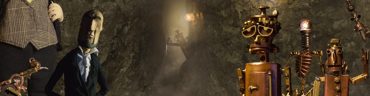 """""""Das Getriebe im Sand"""" - Ein Steampunk-Stopmotion-Kurzfilm"""